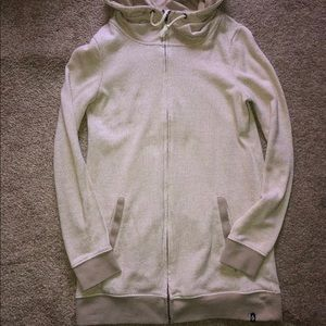 Women's quicksilver long zipper sweatshirt hoodie